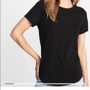 Old Navy relaxed fit black black short sleeve NWT
